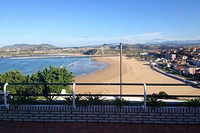 Alquiler apartamentos suances vista mar Cantabria