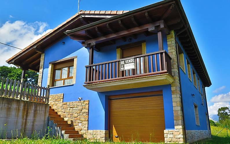 Casa en alquiler a 3 km de la playa Asturias - Exterior del aloj.