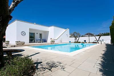 Villa per 4-6 persone a 300 m dalla spiaggia Lecce