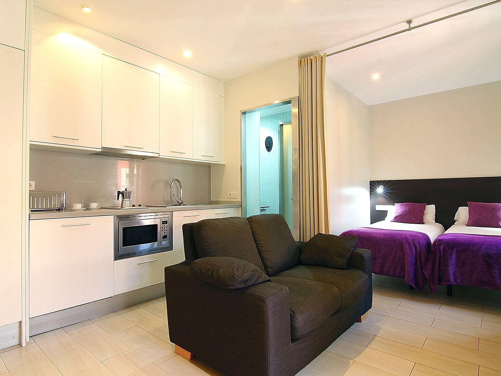 Appartamento per 2 persone nel centro di barcellona for B b barcellona economici centro