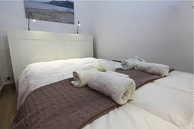 3 Apartamentos de 1 habitación a 8 km de la playa Palermo