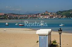 Apartamento para 6-7 personas en 1ª línea de playa Cantabria