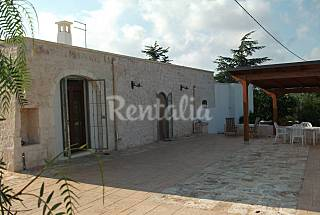 Villa for 5-6 people 8 km from the beach Brindisi