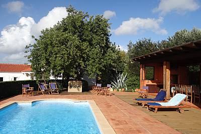 Villa para 8-13 personas a 4 km de la playa Algarve-Faro