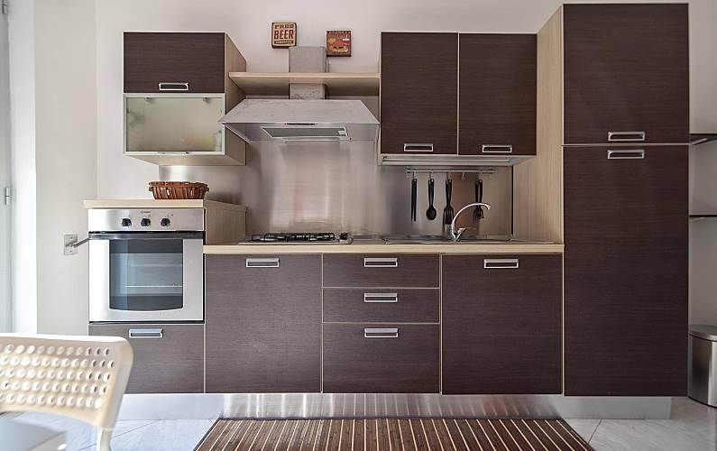Apartamento Cocina Lecce Gallipoli Apartamento - Cocina