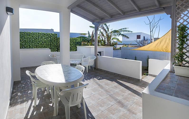 Villa Terrace Lecce Alliste villa - Terrace