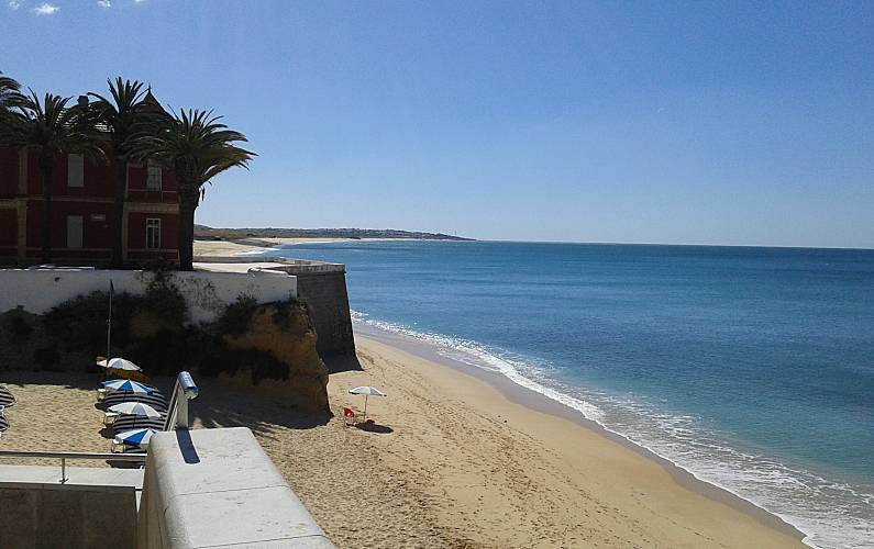 Spacious apt with sea view Algarve-Faro -
