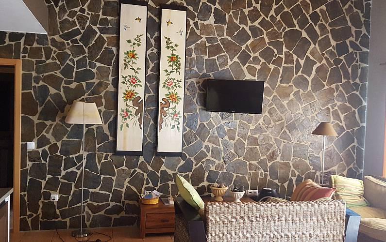Beach Living-room Algarve-Faro Aljezur House - Living-room