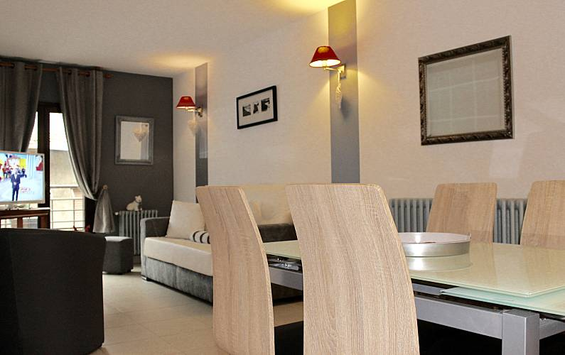 6 Living-room La Massana Apartment - Living-room