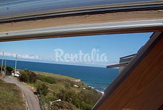 3 Apartments for rent on the beach front line A Coruña