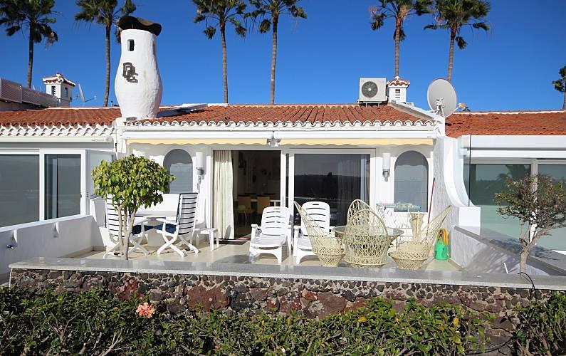 luxury Terrace Gran Canaria San Bartolomé de Tirajana House - Terrace