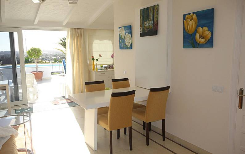 luxury Dining-room Gran Canaria San Bartolomé de Tirajana House - Dining-room