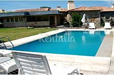 Rustic house for 14 persons with private pool Viana do Castelo