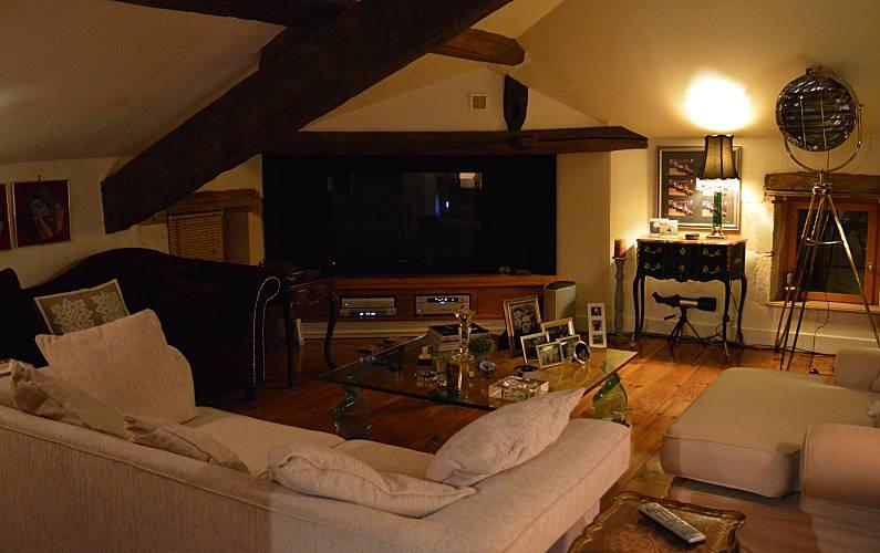 Rural Living-room Lot-et-Garonne Fumel Countryside villa - Living-room