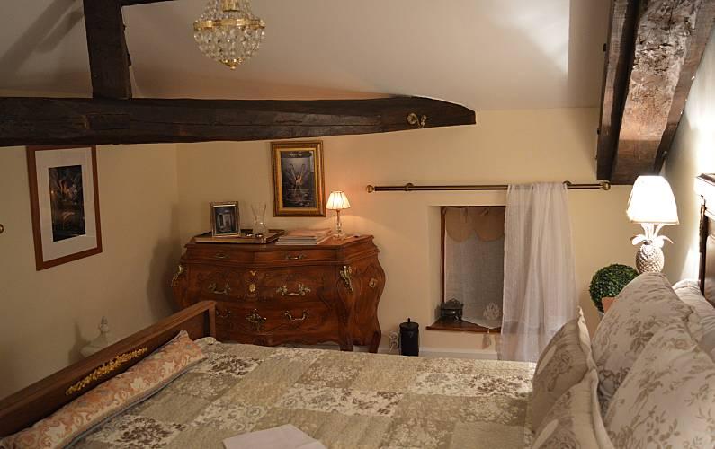 Casa Quarto Lot e Garona Fumel Villa rural - Quarto