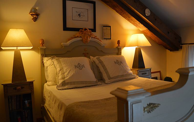 Rural Bedroom Lot-et-Garonne Fumel Countryside villa - Bedroom