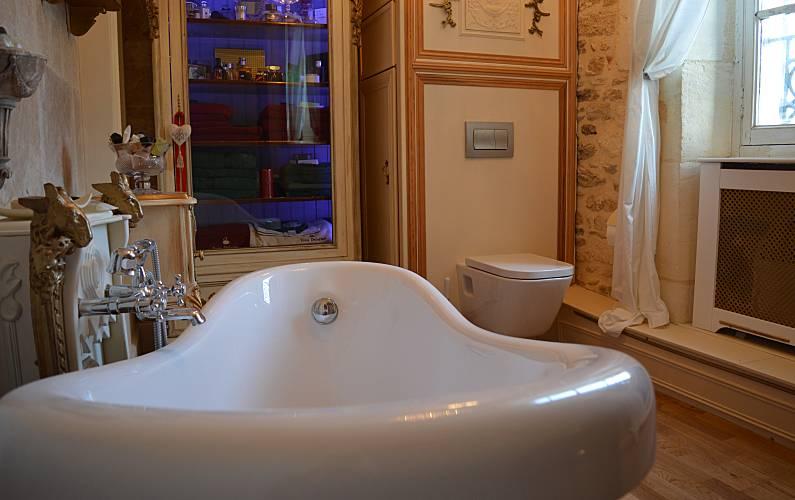 Casa Casa-de-banho Lot e Garona Fumel Villa rural - Casa-de-banho