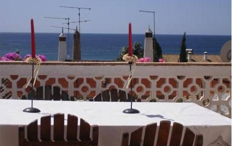 Totally equipped villa only 100 meters from the beach Algarve-Faro - Terrace