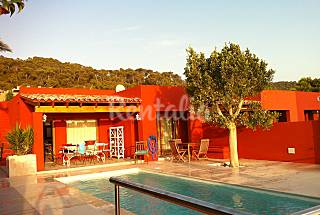 Beautiful house with sea view and private pool.  Ibiza