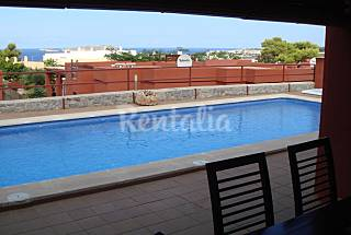 Very nice house with private pool and seaview. Ibiza