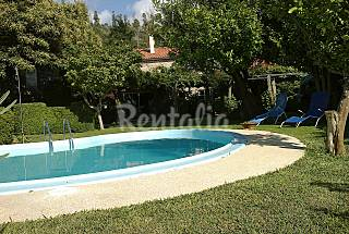 Stone house with pool and 4 bedrooms A Coruña