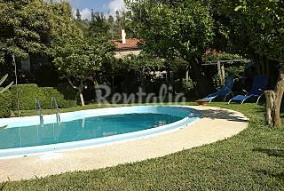 Casa de piedra con piscina y 4 habitaciones A Coruña/La Coruña