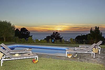 Villa para 8-10 personas en 1a línea de playa Pontevedra