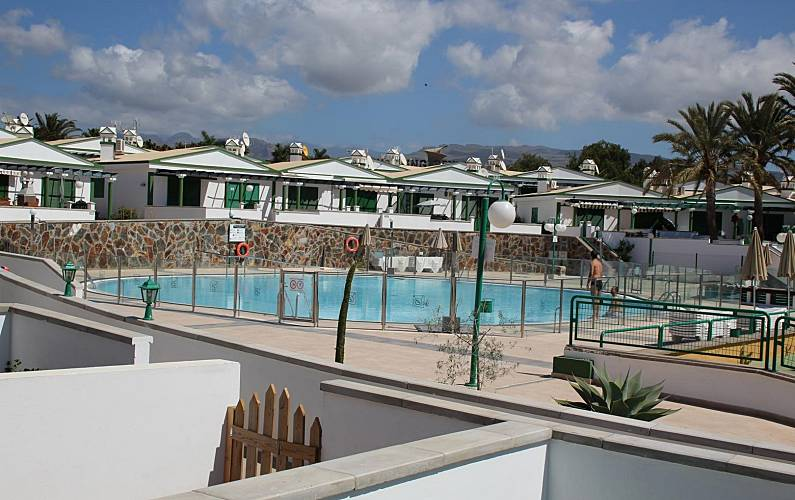 Bungalow in the Campo International Gran Canaria - Swimming pool