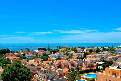 Apartamentos Isla Canela y Punta del Moral piscina Huelva