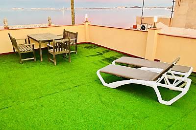 Casa de 3 habitaciones en 1a línea de playa Murcia