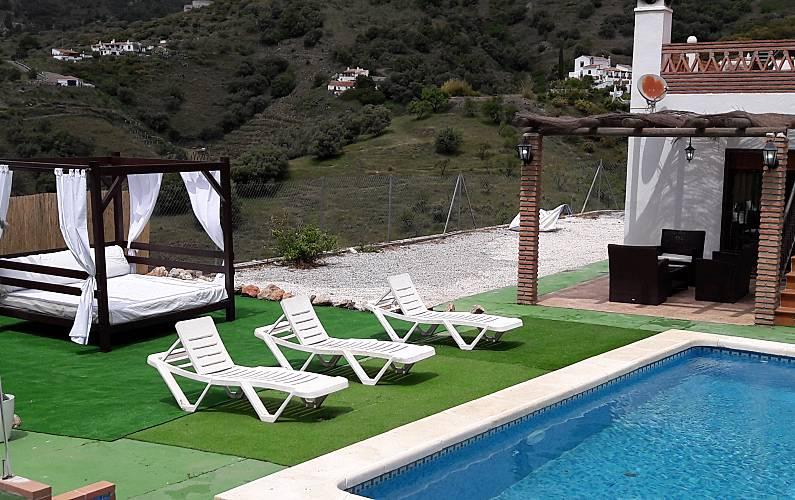 Villa Juanse frigiliana - Frigiliana (Málaga) La Axarquía