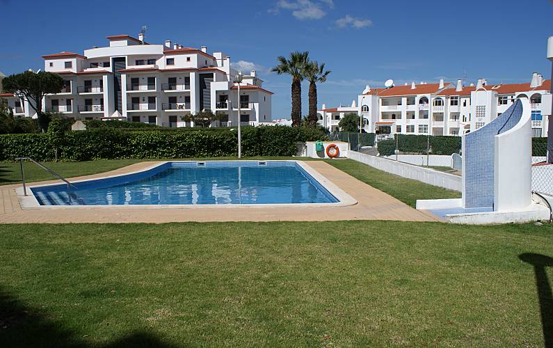 Apartamento, T1, 500m praia, com piscina Algarve-Faro - Piscina