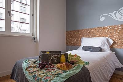 Apartamento para 8-12 personas a 800 m de la playa Oporto