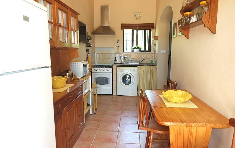 Casinha Cozinha Algarve-Faro Lagos Villa rural - Cozinha