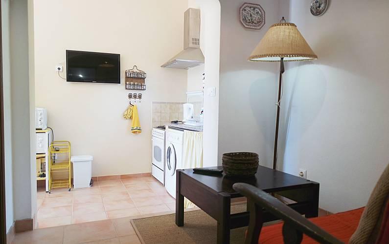 Casinha Sala Algarve-Faro Lagos Villa rural - Sala