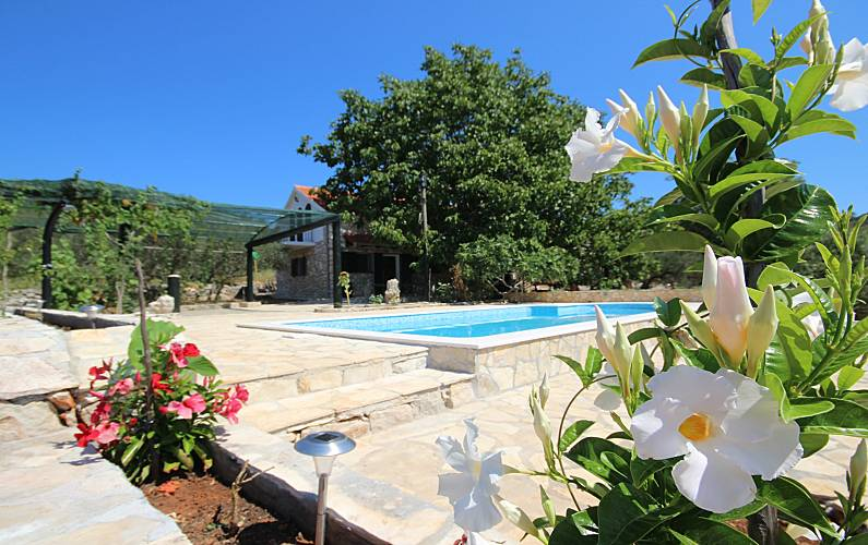 Espaciosa villa con piscina & Wifi Dubrovnik-Neretva -