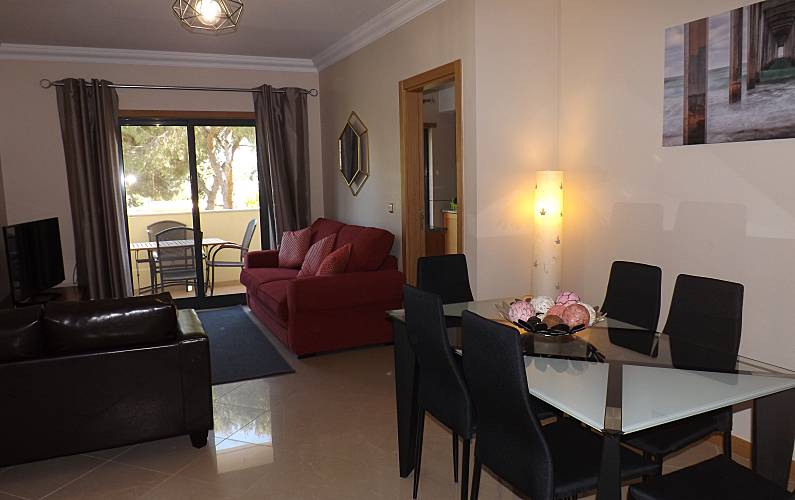 Apartment Living-room Algarve-Faro Albufeira Apartment - Living-room