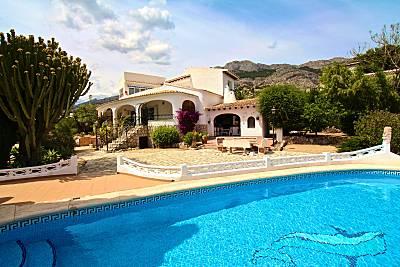 Villa bahia de altea con vistas al mar Alicante