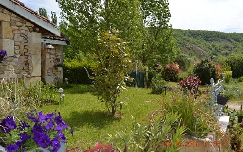 Casa Jardim Lot e Garona Fumel Villa rural - Jardim