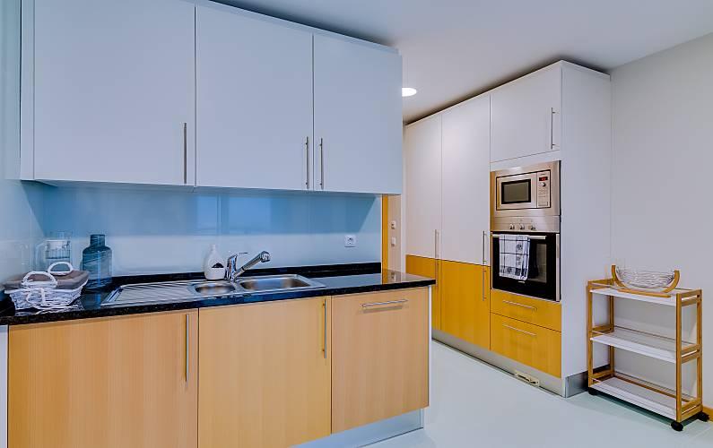 Apt Cozinha Algarve-Faro Olhão Apartamento - Cozinha