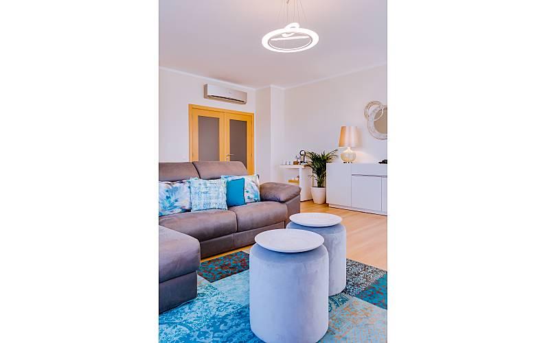 Apt Sala Algarve-Faro Olhão Apartamento - Sala