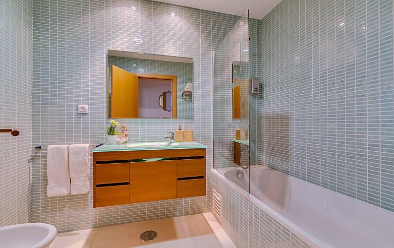 Apt Casa-de-banho Algarve-Faro Olhão Apartamento - Casa-de-banho