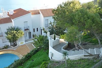 Duple, 2 hab, aire acond  , piscina 400 m de playa Almería