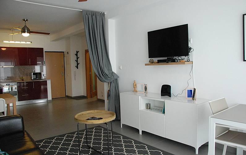 Excelente Sala Algarve-Faro Lagos Apartamento - Sala