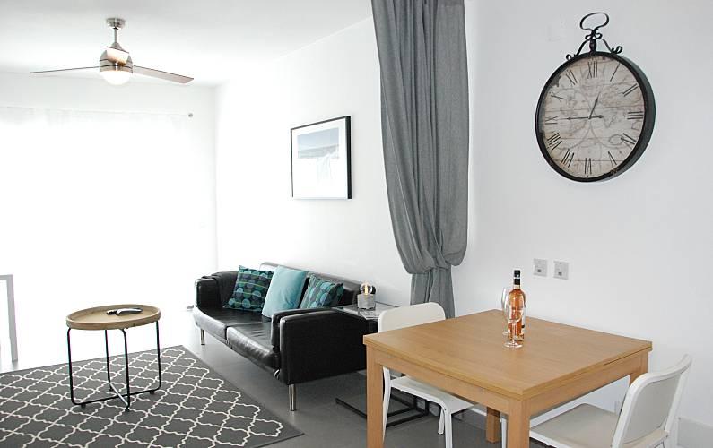 Excellent Living-room Algarve-Faro Lagos Apartment - Living-room