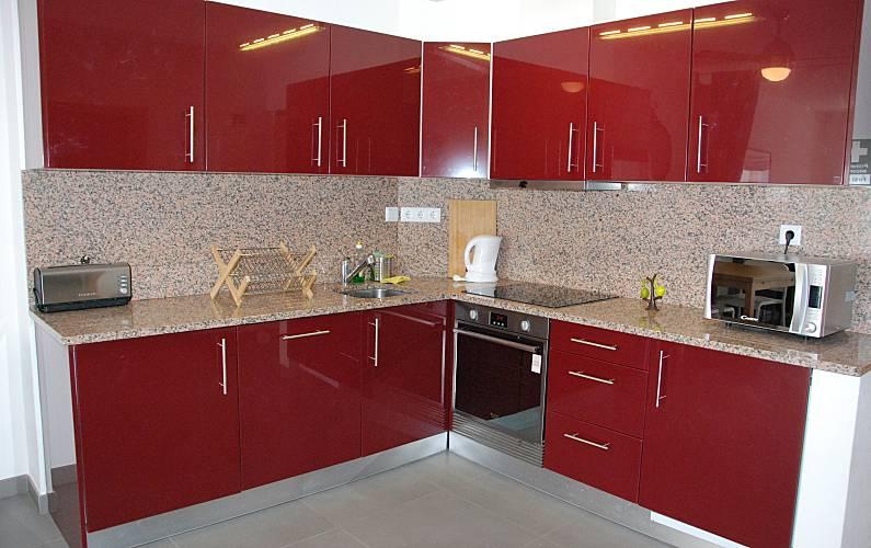 Excellent Kitchen Algarve-Faro Lagos Apartment - Kitchen