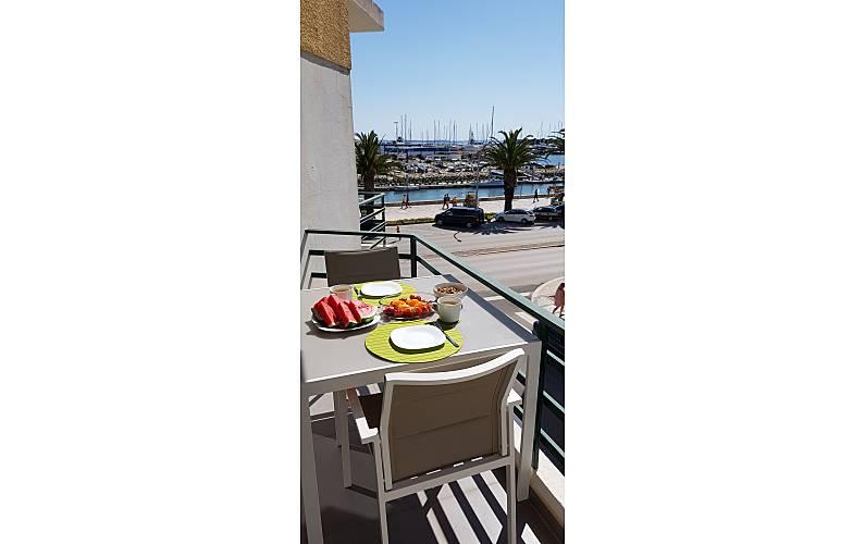 Excellent Terrace Algarve-Faro Lagos Apartment - Terrace