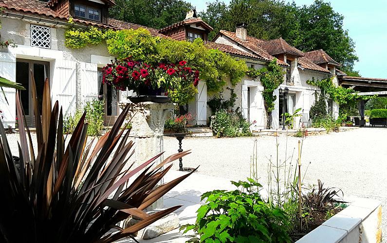 Casa Jardim Dordogne Sorges Casa rural - Jardim