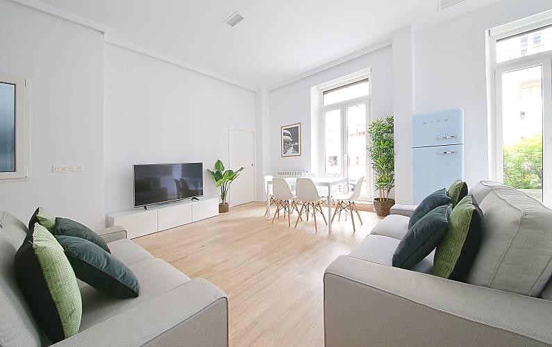 Appartamento in affitto nel centro di Donostia/San Sebastián Guipúzcoa -