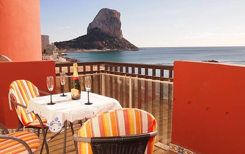Apartamento En Primera Línea De Playa Calpe Calp Alicante Costa Blanca